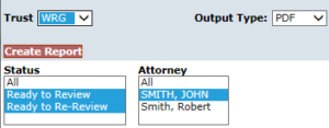 Select Attorney